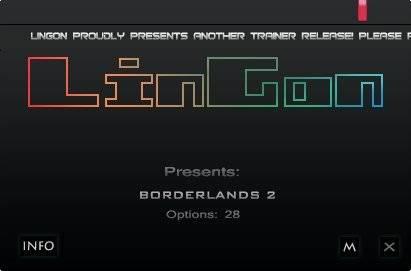 Borderlands 2 Чит трейнер [+28] (All Versions)