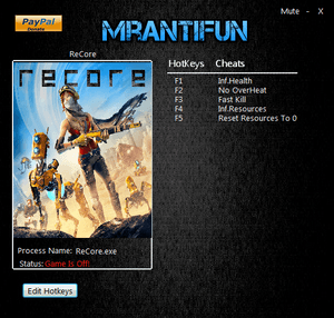 ReCore - Definitive Edition Чит трейнер [+5] (Latest)