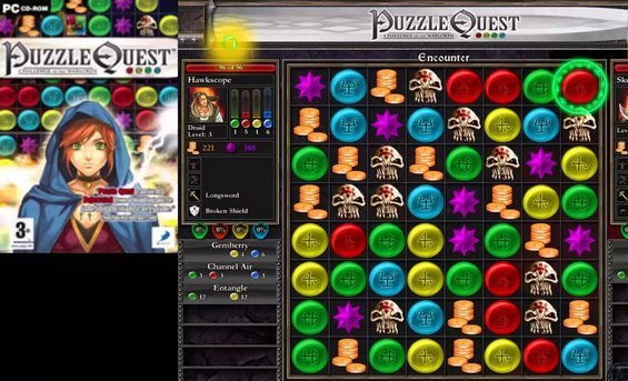 Puzzle Quest - Challenge of the Warlords Чит трейнер [+12] (Latest)
