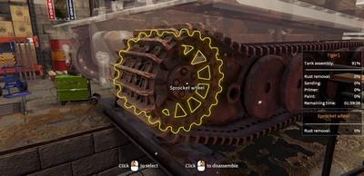 Tank Mechanic Simulator Чит трейнер [+21]