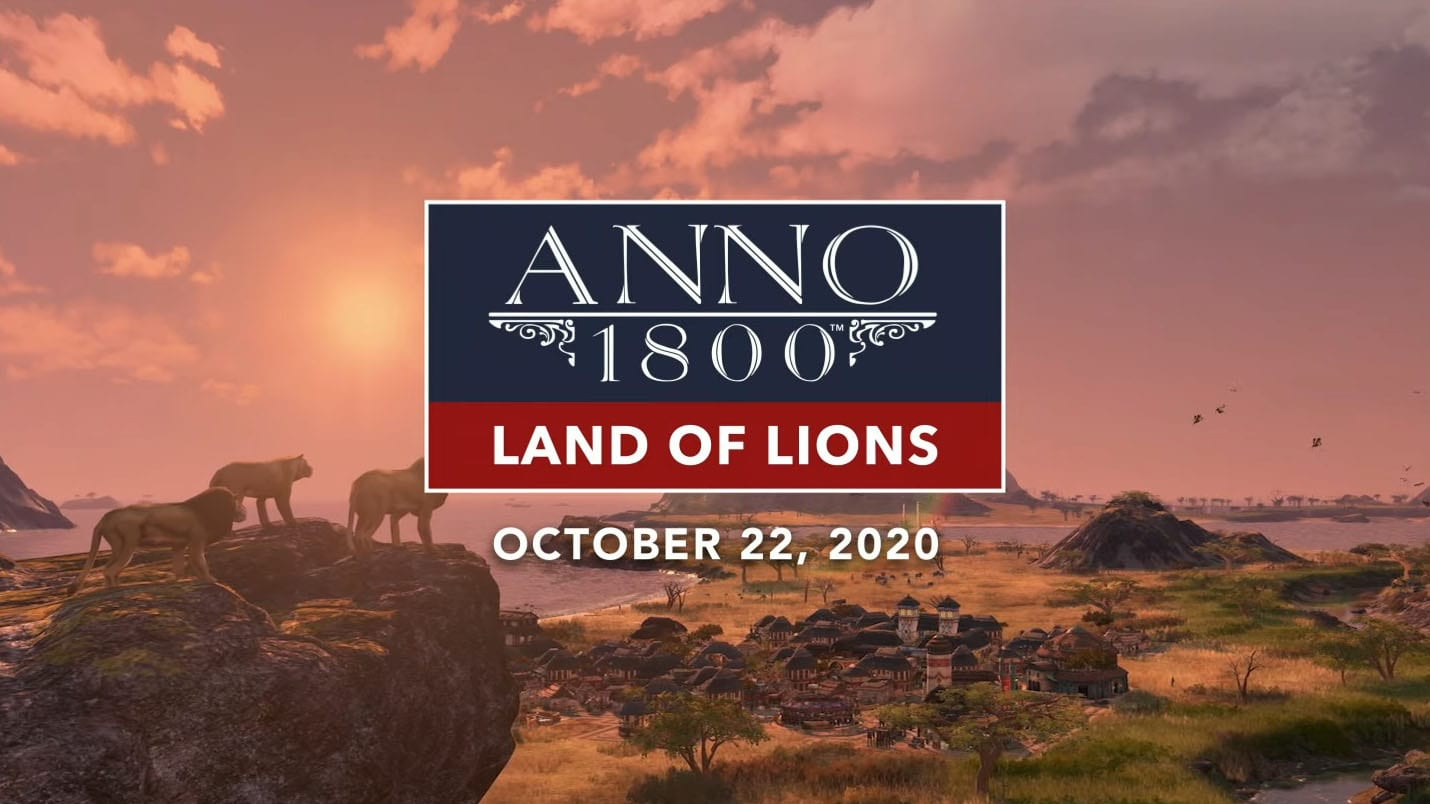 Трейнер на Anno 1800 - Land of Lions